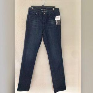 "DKNY Dark Denim SOHO Skinny Jeans Size 8-32"" long"